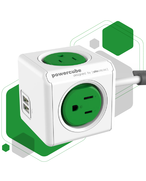 PowerCube extensivo - USB